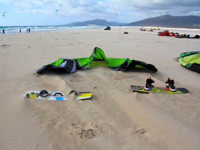 Kitesurf, Paddle surf and surf equipment rental