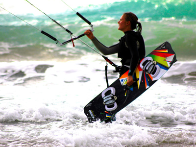 Kitesurfing lessons advanced in Tarifa - 9 or 12 hours